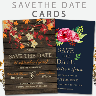 custom wedding save the date by mgdezigns