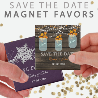 Custom Save The Date Magnets By Mgdezigns