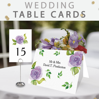 wedding table-numbers by mgdezigns