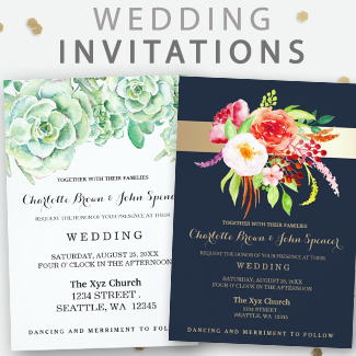 affordable wedding invites by mgdezigns