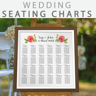 affordable wedding seating charts by mgdezigns